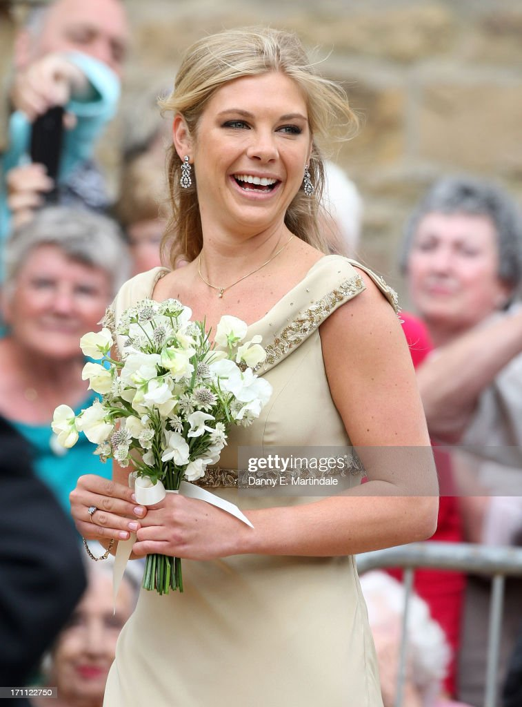 <a gi-track='captionPersonalityLinkClicked' href=/galleries/search?phrase=Chelsy+Davy&family=editorial&specificpeople=740229 ng-click='$event.stopPropagation()'>Chelsy Davy</a> attends the wedding of Melissa Percy and Thomas van Straubenzee at Alnwick Castle on June 22, 2013 in Alnwick, England.