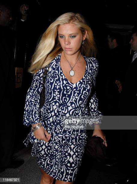 Chelsy Davy Girlfriend of Prince Harry during Prince Harry Sighting in London January 19 2007 at The Embassy Club in London Great Britain