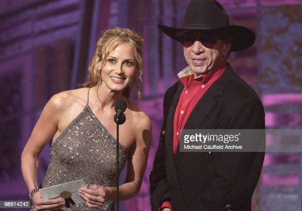 Chely Wright and Buck Owens present at the 37th Academy of Country Music Awards at the Universal Amphitheater May 22 2002