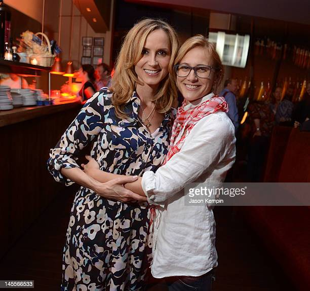 Chely Wright and Lauren Blitzer attend the 'Chely Wright Wish Me Away' New York After Party at Zio Restaurant on June 1 2012 in New York City