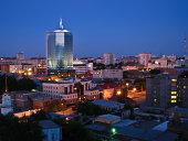 Chelyabinsk at night