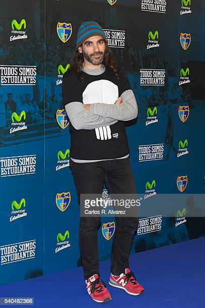 Chema Alonso attends 'Todos Somos Estudiantes' Movistar awards at the Telefonica Auditorium on June 15 2016 in Madrid Spain