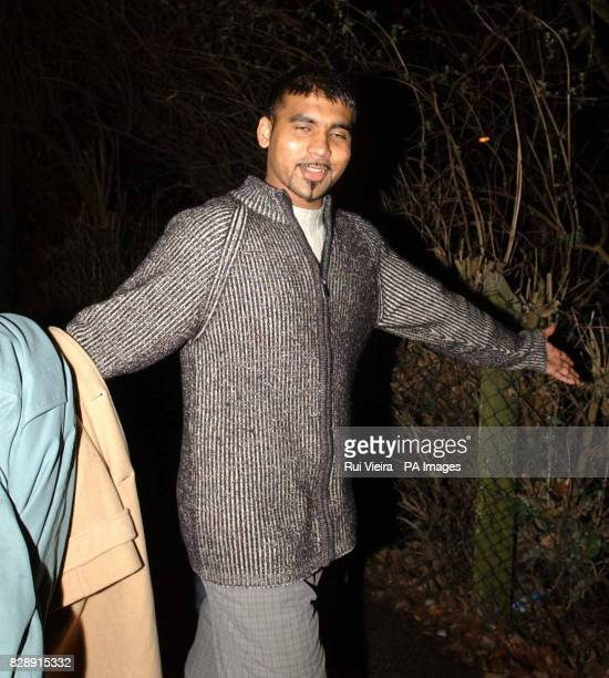 Chemical engineering student Pushparajah Sinnappayal leaving Northampton Crown Court after being charged with perverting the course of justice...