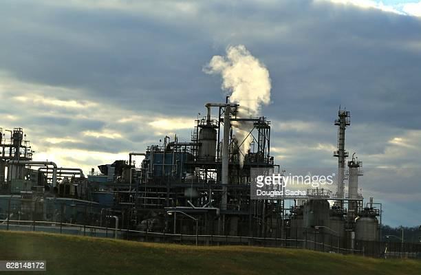 Chemical Facility, Ohio River's Chemical Valley, Ohio, USA