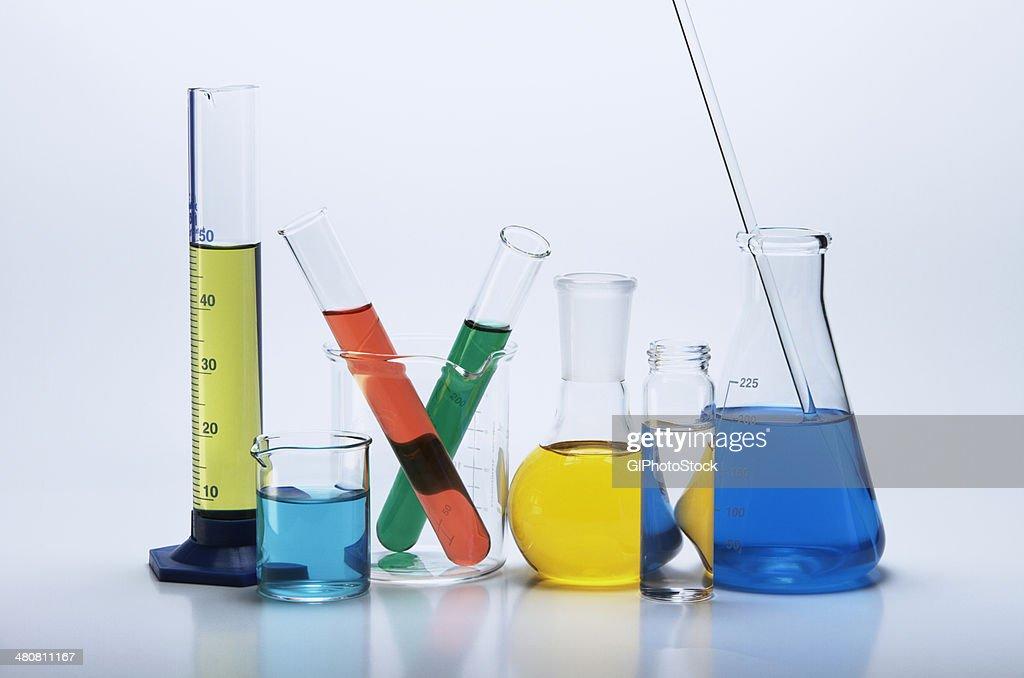 Chemical lab glassware
