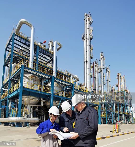Chemical plant, Nanjing, China
