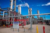 Chemical Plant Process Unit