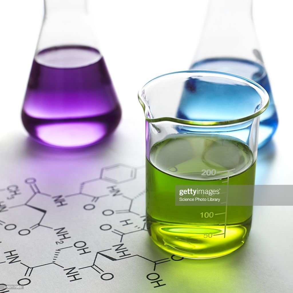 Chemical research, conceptual image
