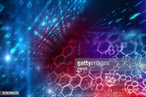 chemical science background illustration : Stock Photo