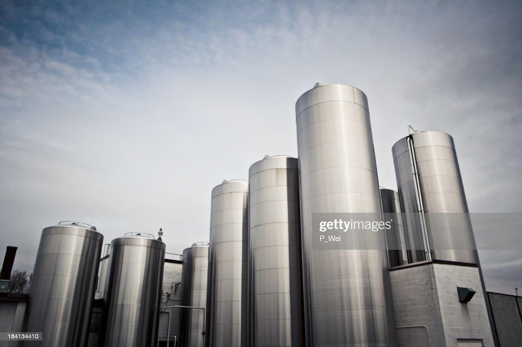 Chemical silos