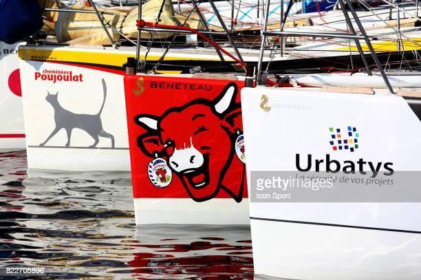 Cheminees Poujoulat / La Vache qui rit / Urbatys Depart Transat AG2R La Mondiale Concarneau / Saint Barthelemy