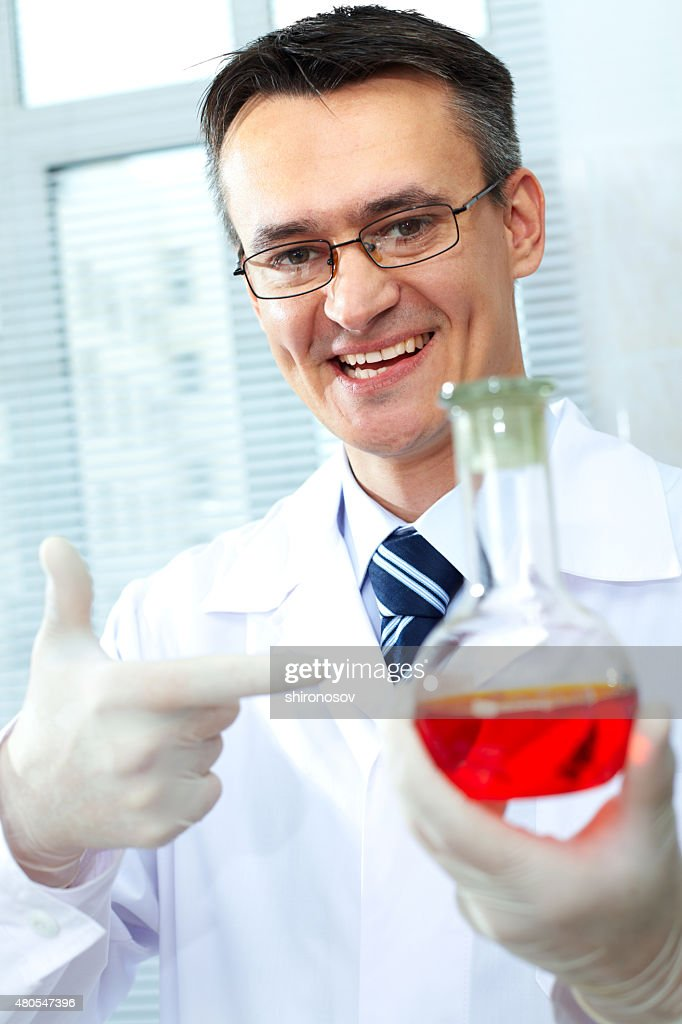 Chemist : Stock Photo