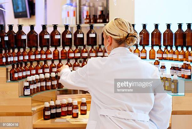 Chemist working in a Laboratory.