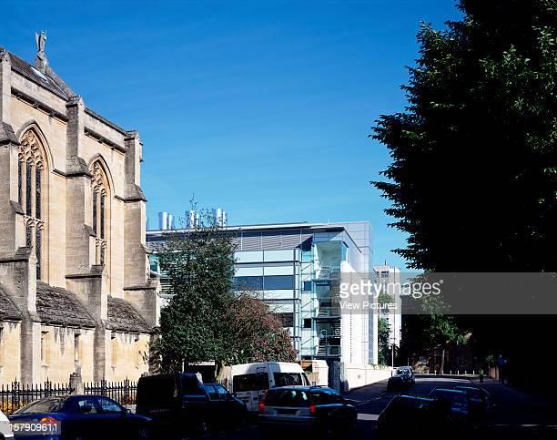 Chemistry Research Building Oxford University Oxford United Kingdom Architect Rmjm Chemistry Research Building Oxford University Road Elevation
