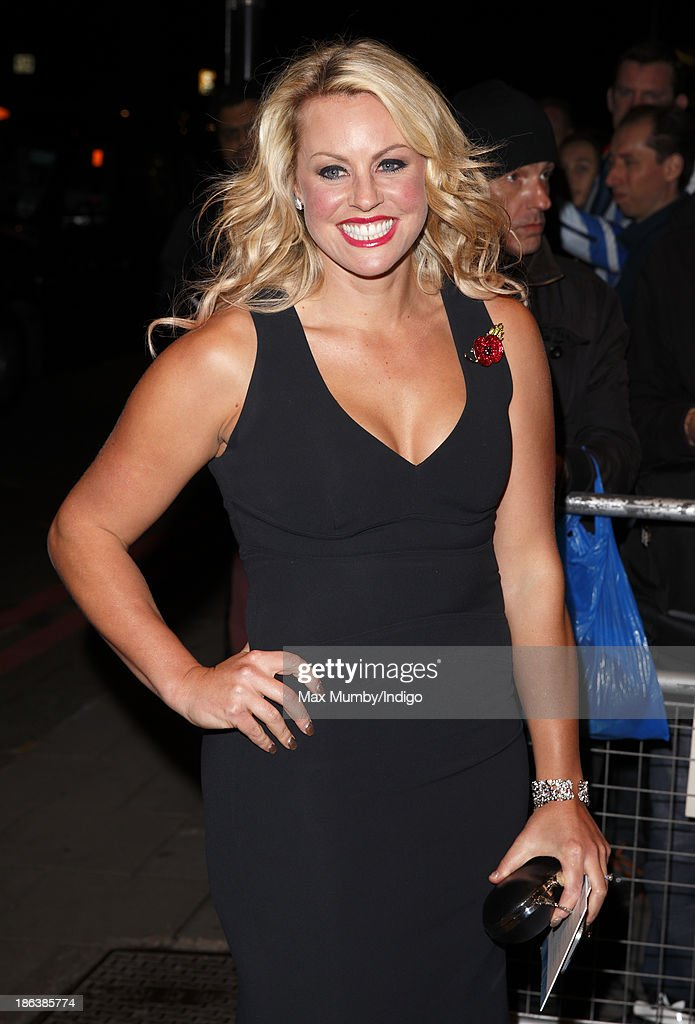 Chemmy Alcott attends the British Olympic Ball at The Dorchester on October 30, 2013 in London, England.
