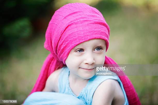 Chemo Child with Doll