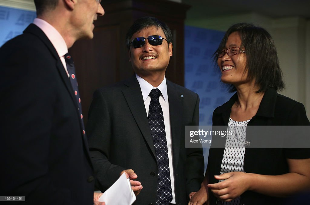 Chen Guangcheng blind Chinese lawyer human rights activist and senior fellow in human rights at the Witherspoon Institute talks to AEI President...