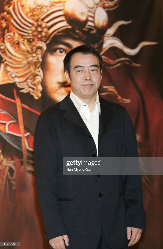 Chen Kaige director during The Promise Press Screening in Seoul January 19 2006 at Shilla Hotel in Seoul South South Korea