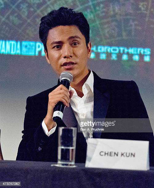 Chen Kun attends a photocall and Press Conference for 'The Ghouls' during the 68th annual Cannes Film Festival on May 14 2015 in Cannes France