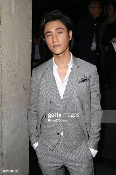 Chen Kun attends the Dior Menswear Fall/winter 20152016 on January 24 2015 in Paris France