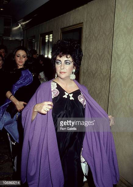 Chen Sam and Elizabeth Taylor during 'The Mirror Crack'd' New York City Premiere at Ziegfield Theatre in New York City New York United States