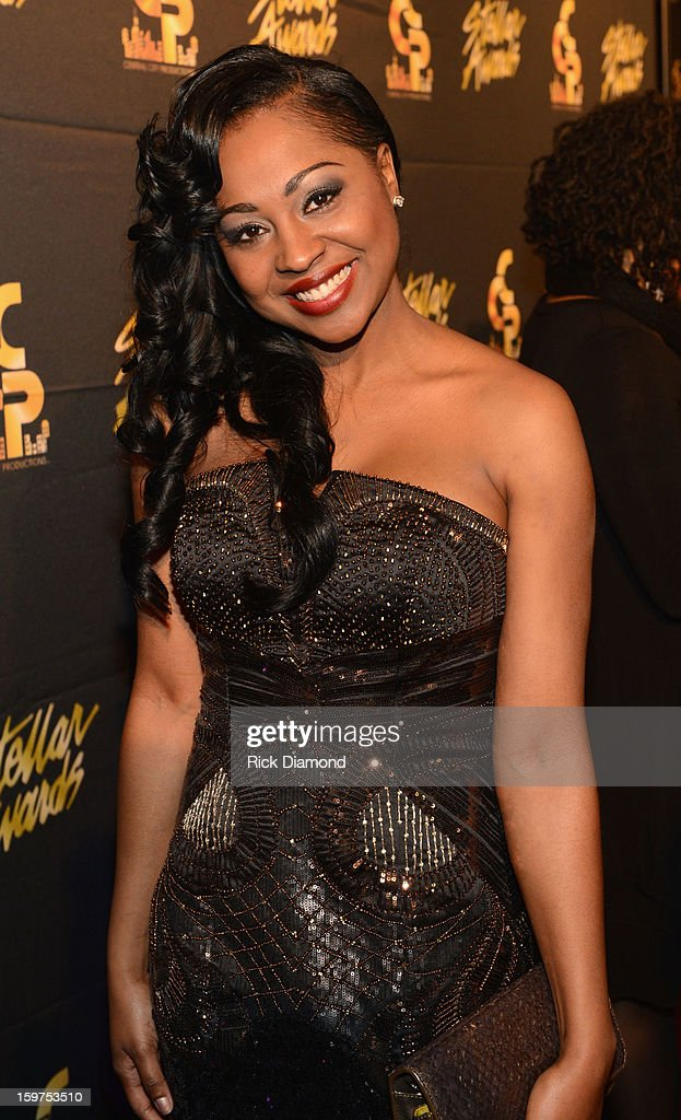 Cheneta jones arrives to the 28th Annual Stellar Awards at Grand Ole Opry House on January 19, 2013 in Nashville, Tennessee.