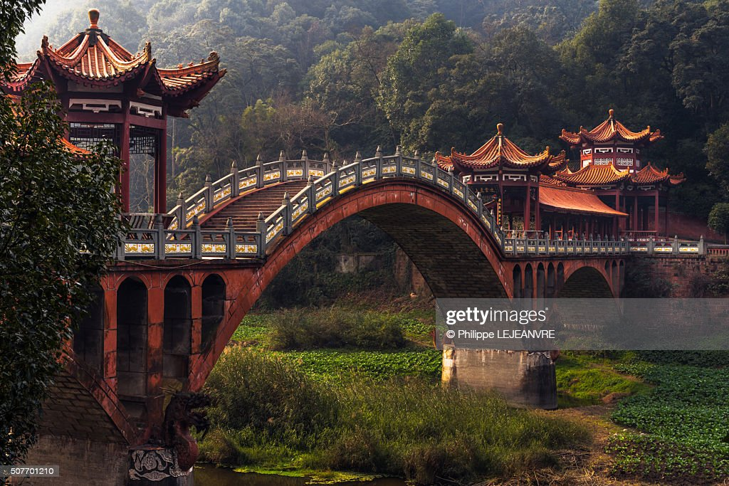 Chengdu Leshan ZhuoYing ancient bridge