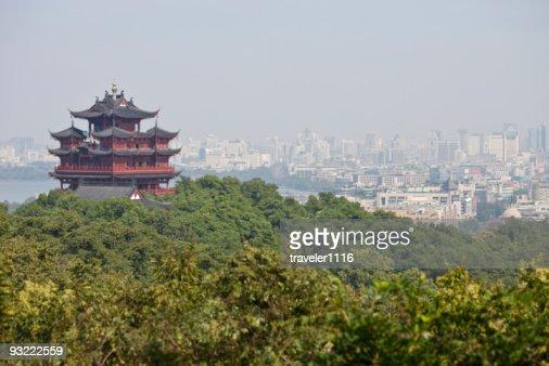 Chenghuang Pagoda In Hangzhou, China