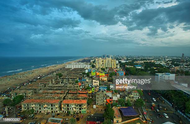 Chennai city- Beach side