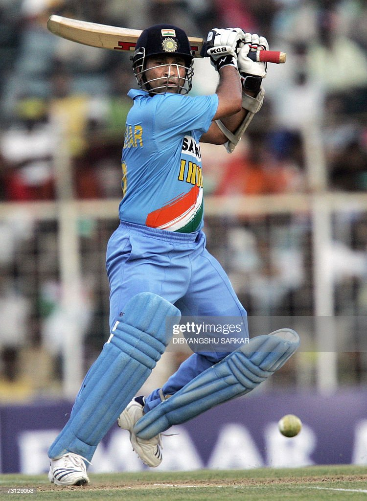 rd cricket odi v west indies photos and images getty images n cricketer sachin tendulkar plays a shot during the third one day international odi