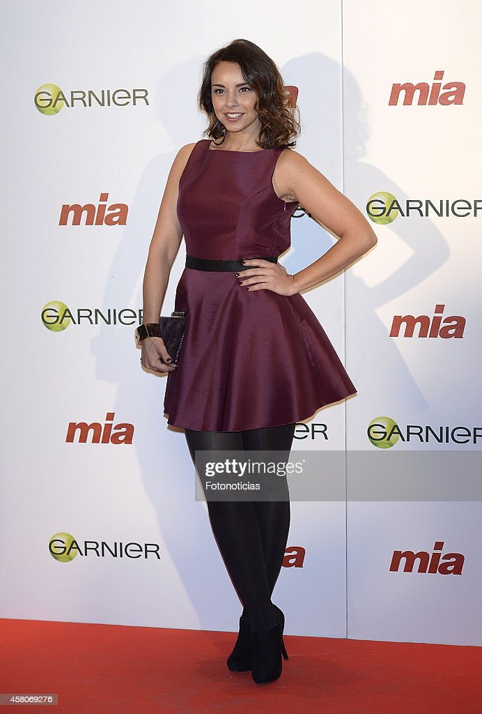 Chenoa attends the 'Cuida De Ti' charity awards ceremony at the COAM on October 29, 2014 in Madrid, Spain.