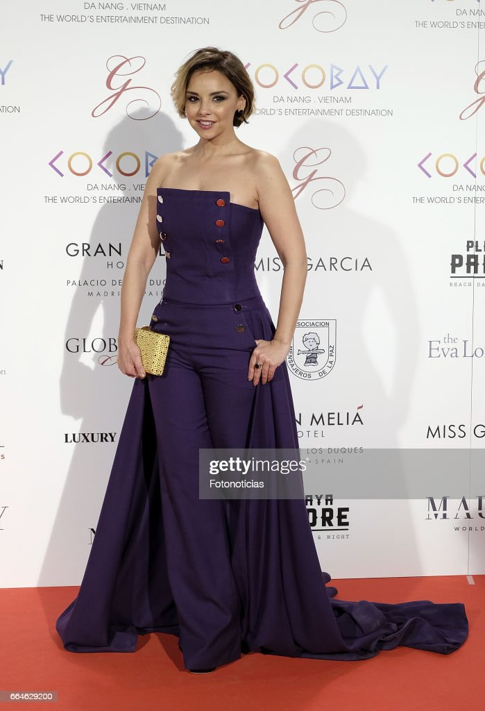 Chenoa attends the Global Gift Gala at The Royal Theatre on April 4, 2017 in Madrid, Spain.