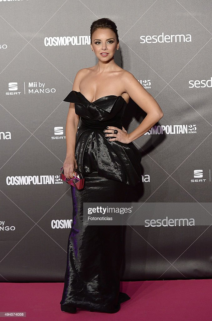 Chenoa attends the VIII Cosmpolitan Awards at The Ritz Hotel on October 27, 2015 in Madrid, Spain.