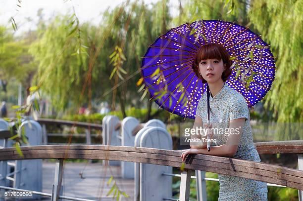 Cheongsam girl