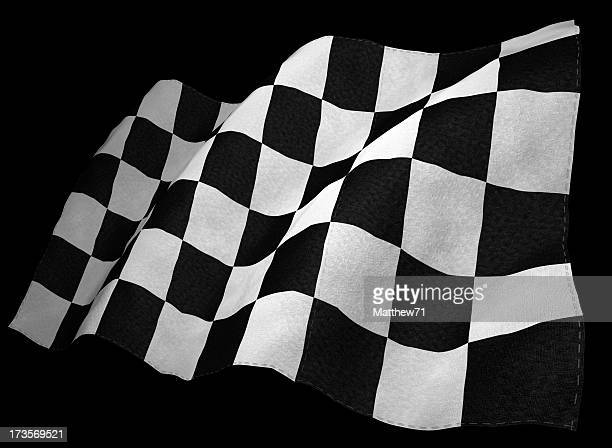 3D Chequered Flag
