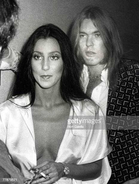 Cher and Gregg Allman of the Allman Brothers Band