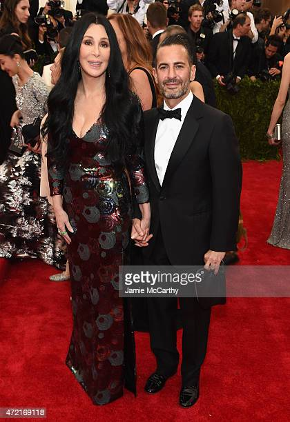 Cher and Marc Jacobs attend the 'China Through The Looking Glass' Costume Institute Benefit Gala at the Metropolitan Museum of Art on May 4 2015 in...