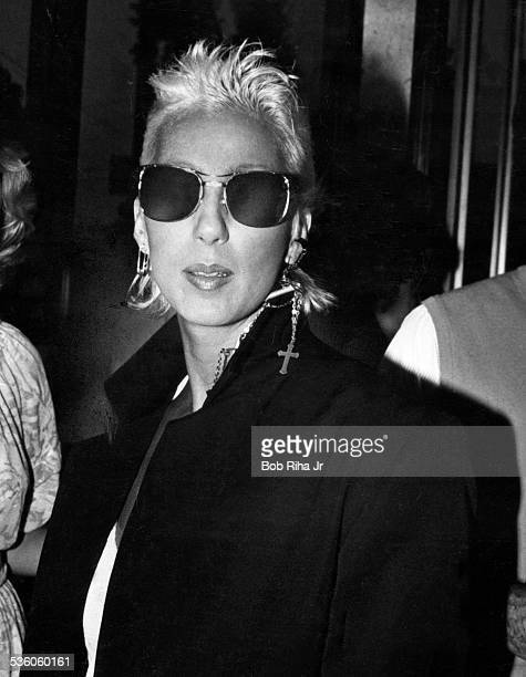 Cher attends the 'Amadeus' movie opening on September 6 1984 in Los Angeles California