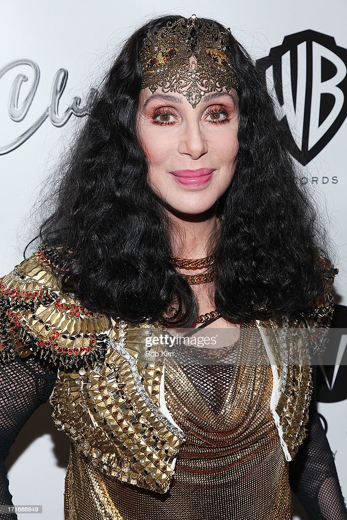 Cher attends Thursday partyÕs ÒQÓ at the Marquee Club on June 27 2013 in New York City