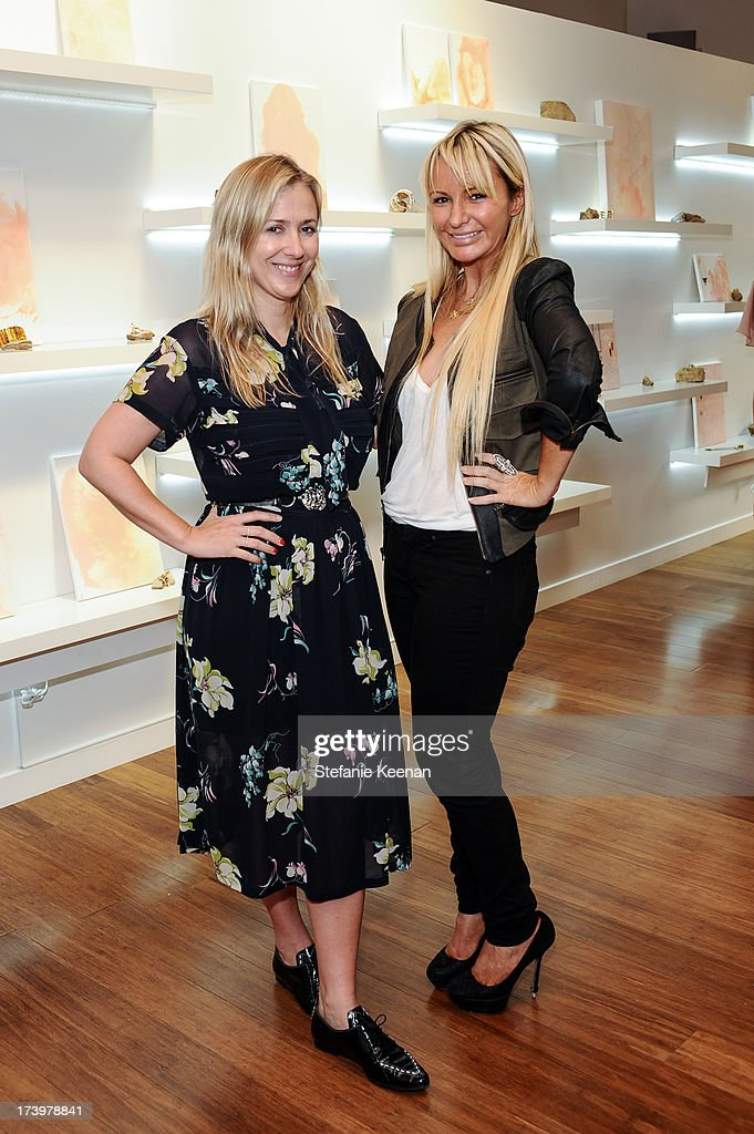 Cher Coulter and CC Skye attend JewelMint Celebrates The Launch Of Collective And Previews New Collections From Cher Coulter And CC Skye at on July 18, 2013 in Los Angeles, California.
