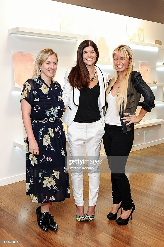 Cher Coulter, Kendra Gratteri and CC Skye attend JewelMint Celebrates The Launch Of Collective And Previews New Collections From Cher Coulter And CC Skye at on July 18, 2013 in Los Angeles, California.