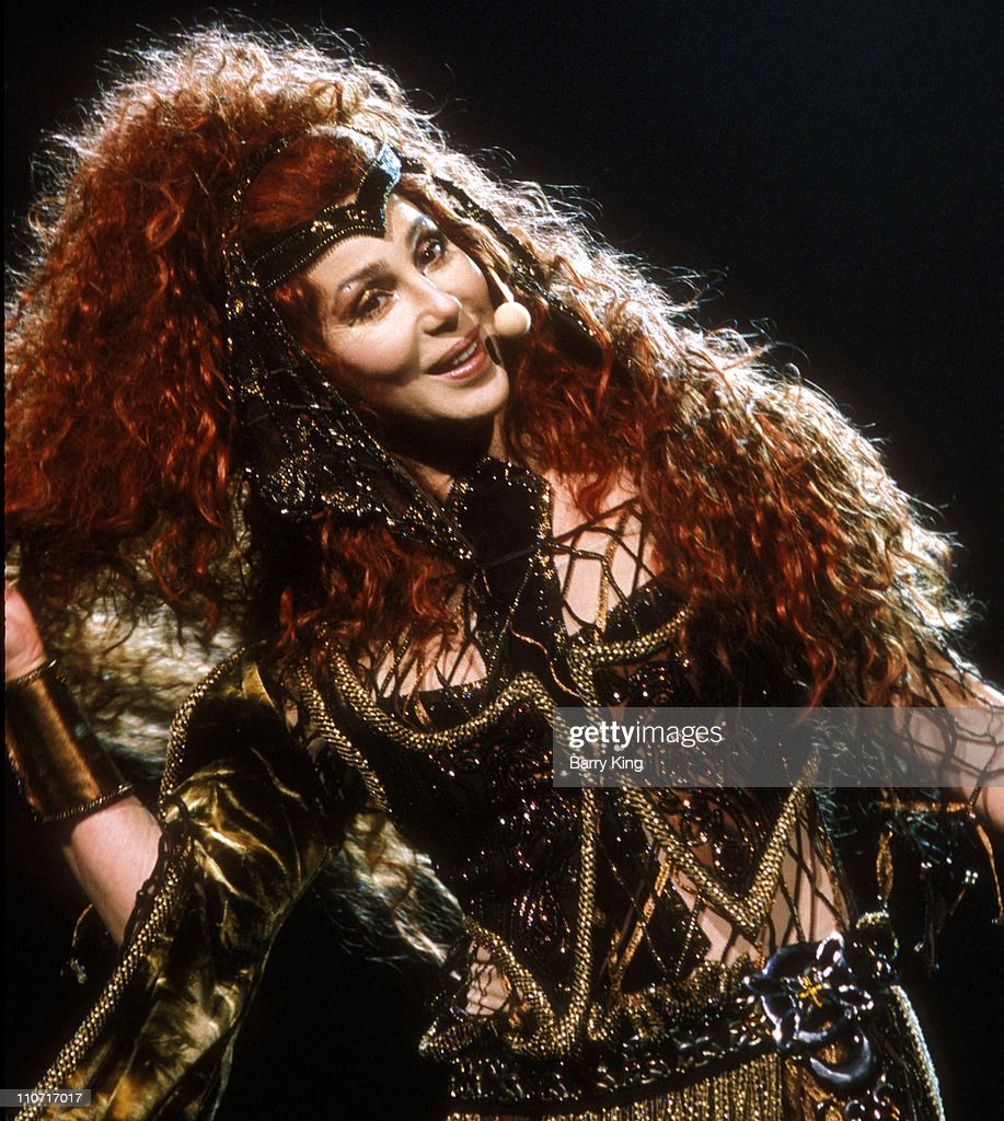 Cher during Cher Do You Believe Tour - Seattle at Key Arena in Seattle, Washington, United States.