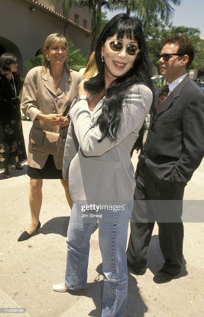 Cher during Summer TV Critics Press Tour at Ritz Carlton Hotel in Pasadena, California, United States.