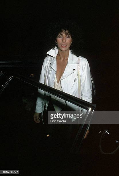 Cher during Toto in Concert at the Roxy Theater in Hollywood February 9 1979 at Roxy Theater in Hollywood California United States