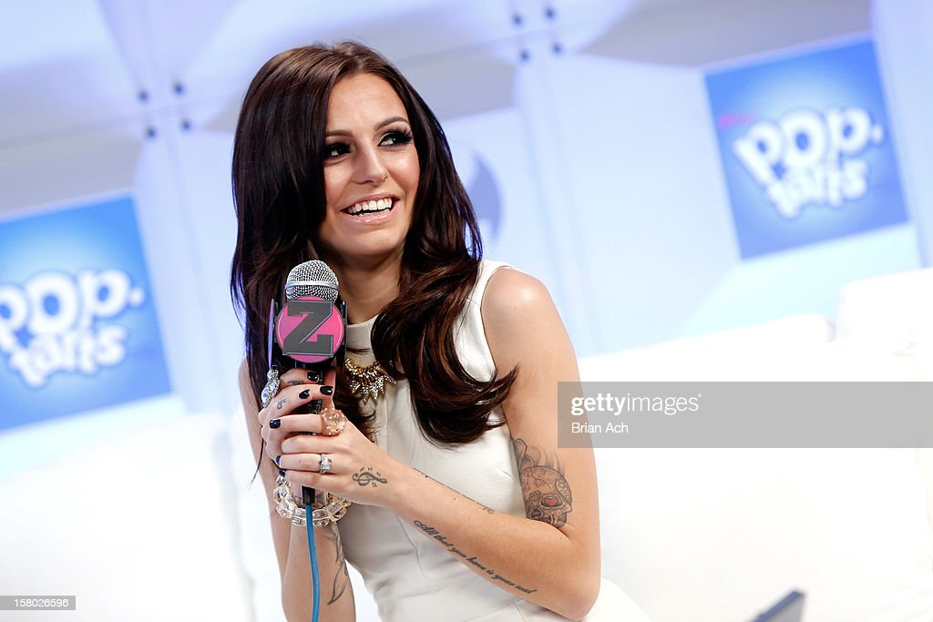 Cher Lloyd attends the Z100 Artist Gift Lounge Presented by Pop Tarts at Z100's Jingle Ball 2012 at Madison Square Garden on December 7, 2012 in New York City.