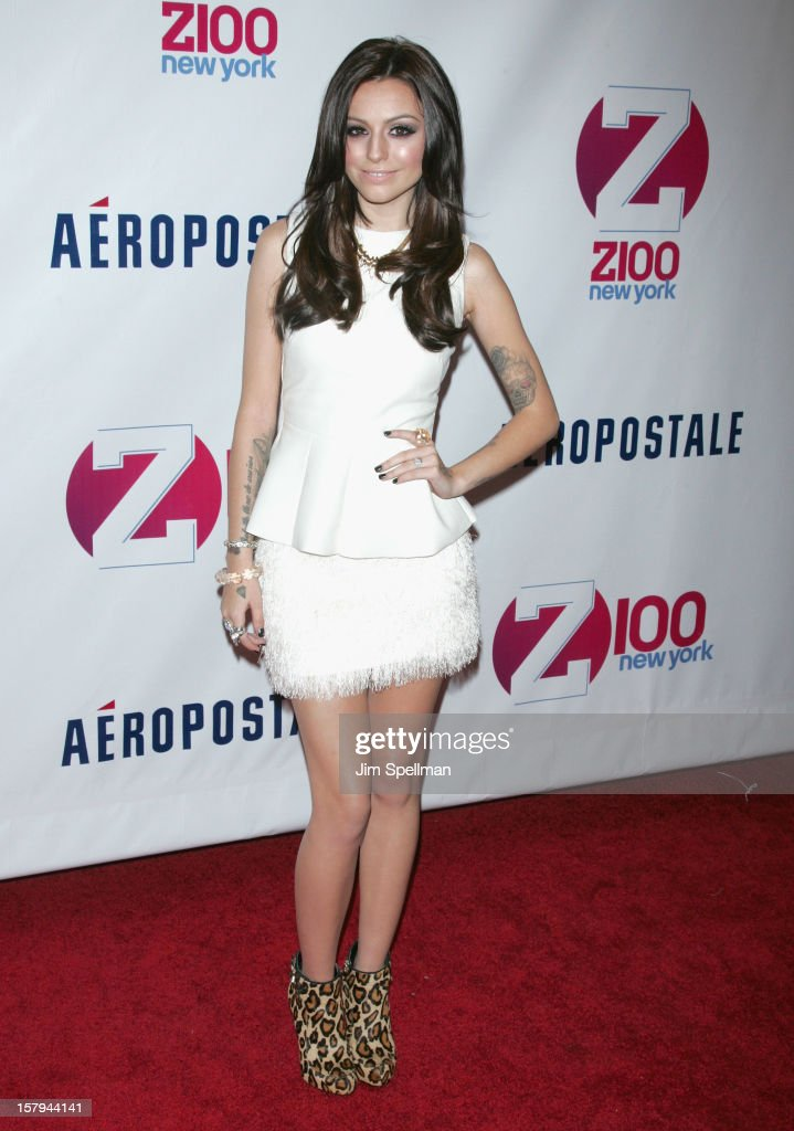 Cher Lloyd attends Z100's Jingle Ball 2012, presented by Aeropostale, at Madison Square Garden on December 7, 2012 in New York City.