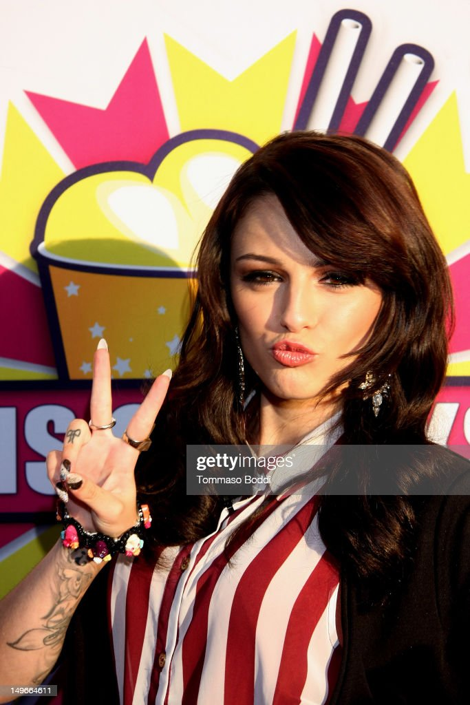Cher Lloyd launches her signature milkshake at Millions Of Milkshakes on August 1, 2012 in West Hollywood, California.