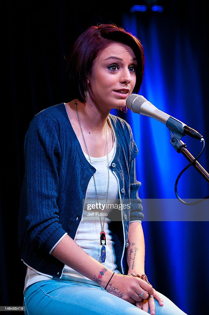 <a gi-track='captionPersonalityLinkClicked' href=/galleries/search?phrase=Cher+Lloyd&family=editorial&specificpeople=7229738 ng-click='$event.stopPropagation()'>Cher Lloyd</a> performs at the Q102 - SNOL iHeart Performance Theater on June 16, 2012 in Bala Cynwyd, Pennsylvania.