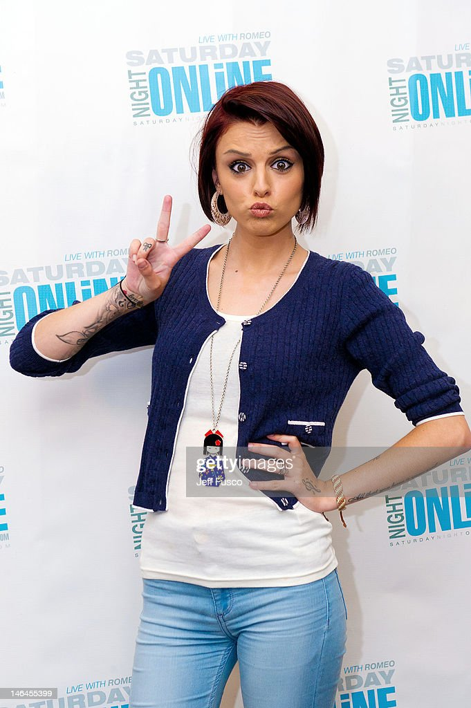 Cher Lloyd poses at the Q102 - SNOL iHeart Performance Theater on June 16, 2012 in Bala Cynwyd, Pennsylvania.