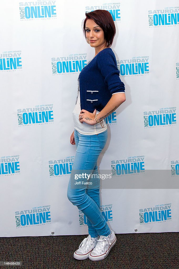 <a gi-track='captionPersonalityLinkClicked' href=/galleries/search?phrase=Cher+Lloyd&family=editorial&specificpeople=7229738 ng-click='$event.stopPropagation()'>Cher Lloyd</a> poses at the Q102 - SNOL iHeart Performance Theater on June 16, 2012 in Bala Cynwyd, Pennsylvania.